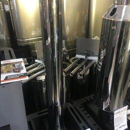 Дымоходы - Труба d 115 L=1,0 м 0,8 мм нерж, 0