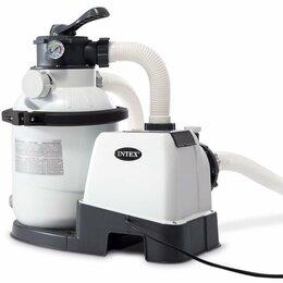 Фильтры, насосы и хлоргенераторы - Песочный фильтр-насос INTEX 4 куб.м./ч.…, 0