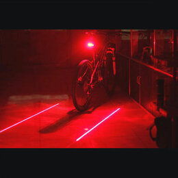 Фонари - Задний фонарь проектор лазер габариты 7+2 режима, 0