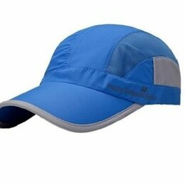 Головные уборы - Бейсболка – кепка летняя, голубая, новая, 0