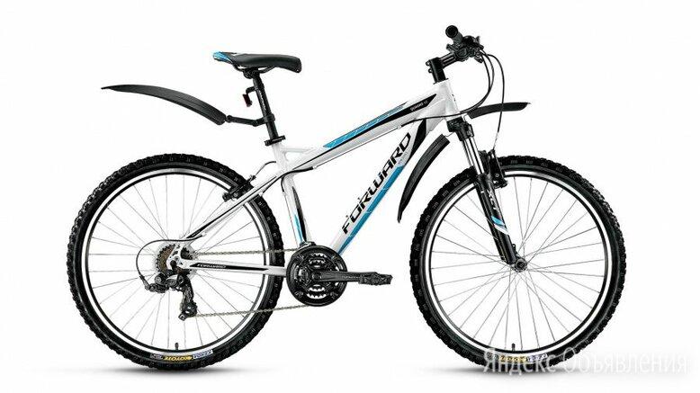 """Горный (MTB) велосипед FORWARD Quadro 1.0 белый 19"""" рама (2016) по цене 25020₽ - Велосипеды, фото 0"""