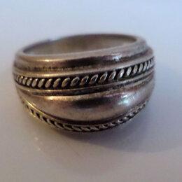 """Кольца и перстни - Винтажное серебряное кольцо """"Чалма"""", 0"""