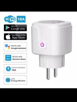 Системы Умный дом - Умная розетка Wi-Fi , 0