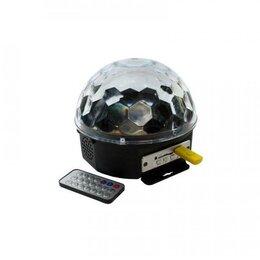 Ночники и декоративные светильники - Светодиодный Диско шар с mp3 проигрывателем, 0
