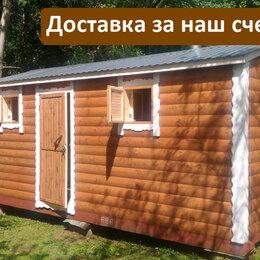 Готовые строения - Баня БОЧКА 5 на 2,25 метров, 0