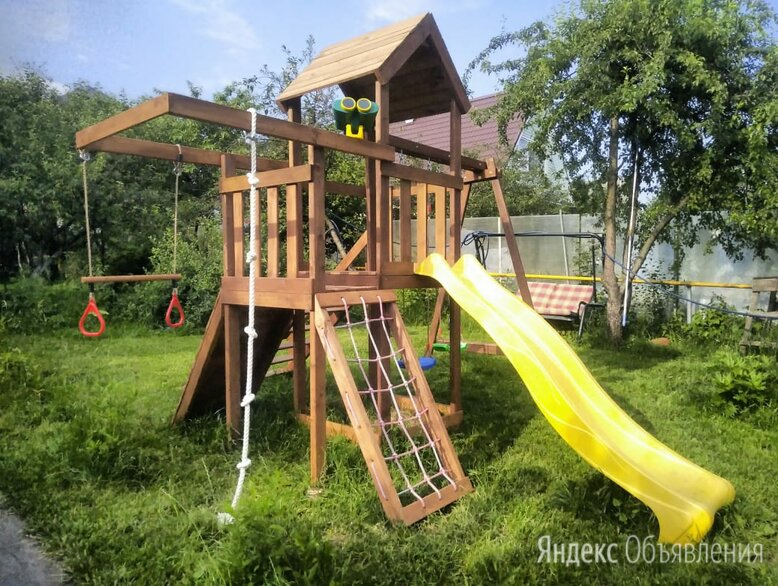 Детский игровой комплекс уличный по цене 44900₽ - Игровые и спортивные комплексы и горки, фото 0