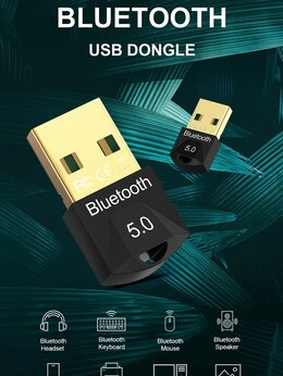 Оборудование Wi-Fi и Bluetooth - Usb-адаптер Bluetooth 5,0 для пк передатчик aptx, 0