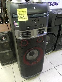 Музыкальные центры,  магнитофоны, магнитолы - Портативная минисистема LG OK85, 0