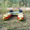 Надувной катамаран для сплава Кокшага-420 по цене 26799₽ - Надувные, разборные и гребные суда, фото 7