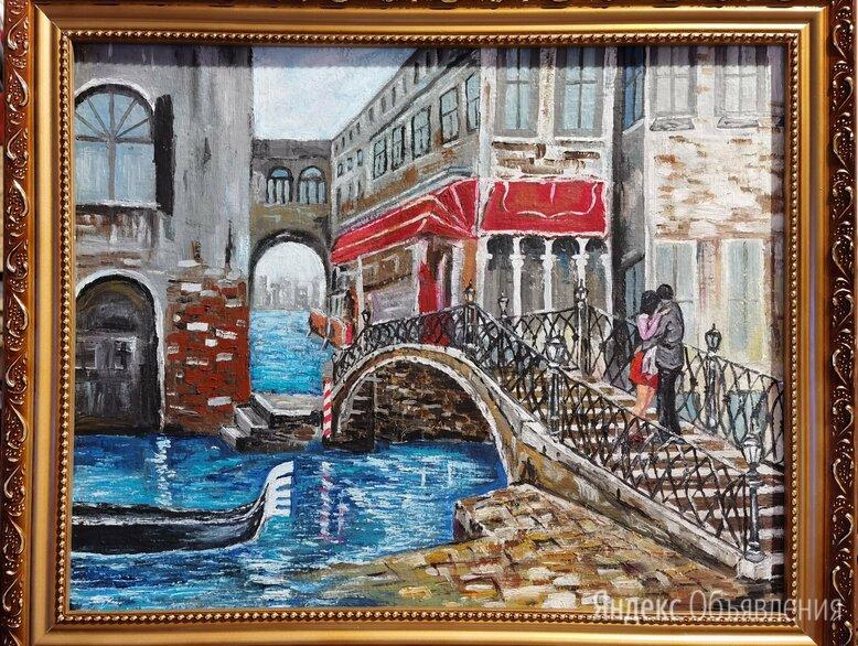 Картина маслом Венеция холст на ДВП40х50 по цене 5000₽ - Картины, постеры, гобелены, панно, фото 0