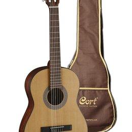 Акустические и классические гитары - Cort AC100 OP W_BAG классическая гитара с чехлом, 0