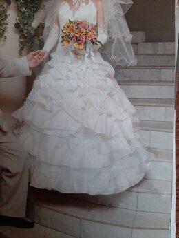 Платья - Платье свадебное на корсете, 0