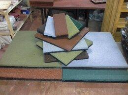 Тротуарная плитка, бордюр - Резиновая плитка, брусчатка, 0