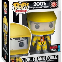 Другое - Фигурка Funko POP! Vinyl: NYCC Exc: Space Odyssey: Dr Frank Poole w/Yello (Exc), 0
