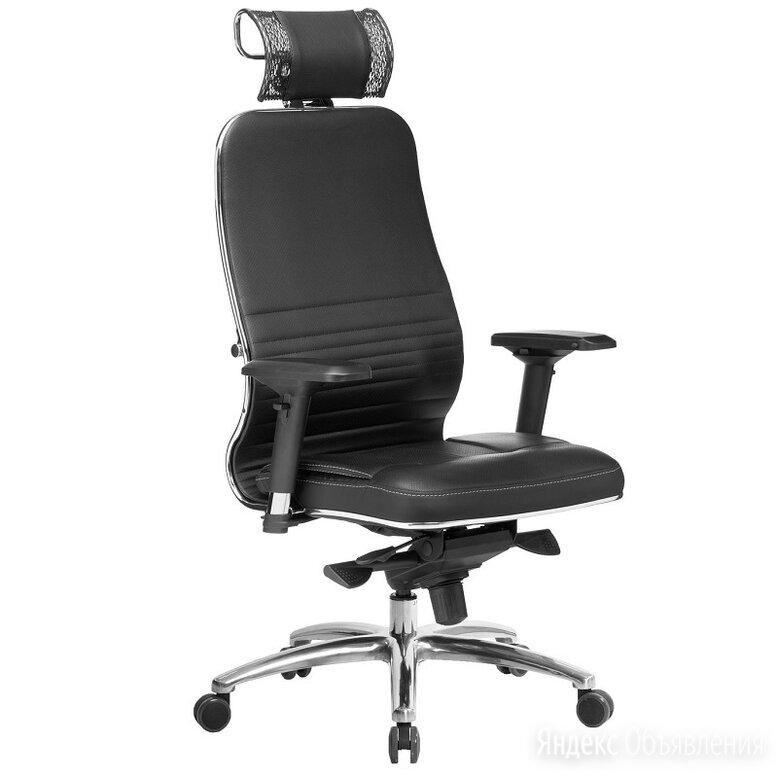 Кожаное офисное кресло Samurai KL-3 для компьютера по цене 25400₽ - Компьютерные кресла, фото 0