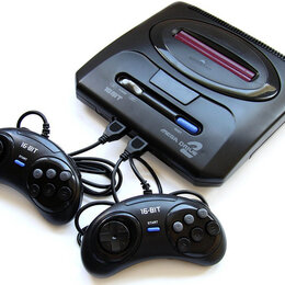 Игровые приставки - SEGA mega Drive 2 сега, 0