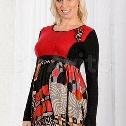 Платья - Платье длинное новое, вискоза/шерсть р.52, 0