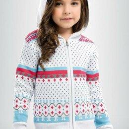 Толстовки - GKJXK3050 куртка для девочек (4, 5 White), 0