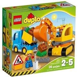 Конструкторы - Конструктор LEGO Duplo Грузовик и экскаватор, 0