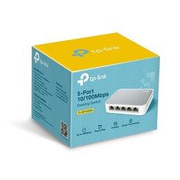 Оборудование Wi-Fi и Bluetooth - Коммутатор TP-LINK TL-SF1005D, 0