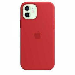 Защитные пленки и стекла - Силиконовый чехол MagSafe для iPhone 12 и iPhone 12 Pro, красный цвет (PRODUC..., 0