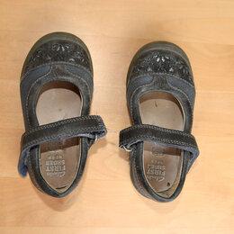 Балетки, туфли - Туфли детские кожаные  на девочку, размер 20,5, 0