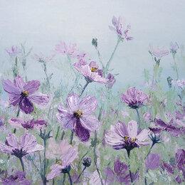 """Картины, постеры, гобелены, панно - Картина маслом """"Полевые цветы""""., 0"""