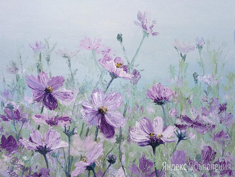 """Картина маслом """"Полевые цветы"""". по цене 4000₽ - Картины, постеры, гобелены, панно, фото 0"""