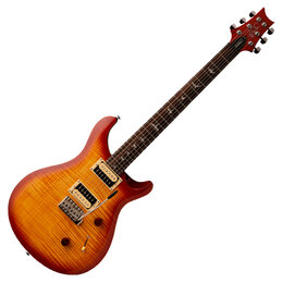 Электрогитары и бас-гитары - PRS SE CUSTOM 24 VINTAGE SUNBURST CU4VS Электрогитара 6 струн, с чехлом, кра..., 0