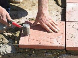 Дизайн, изготовление и реставрация товаров - Укладка тротуароной плитки, 0