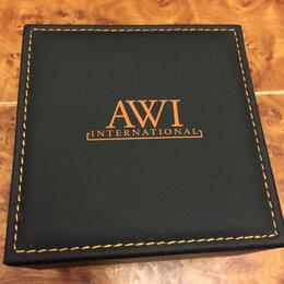 Шкатулки для часов - Кожаная коробка для Часов AWI, 0
