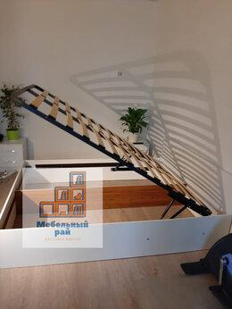 Кровати - Кровать двуспальная с ортопедическим основанием , 0