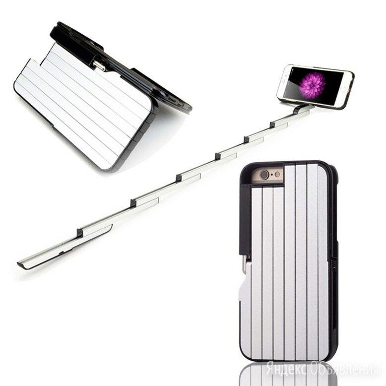 Чехол-Сэлфи палка для Iphone по цене 600₽ - Чехлы, фото 0