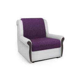 Кресла - Кресло-кровать «Аккорд М» фиолетовая рогожка и…, 0