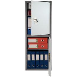 Шкафы для документов - Шкаф бухгалтерский Aiko SL-125/2Т, 1252*460*340,…, 0