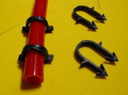 Комплектующие для радиаторов и теплых полов - Скоба фиксатор для труб(100шт), 0