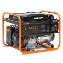 Электрогенераторы - Бензиновый генератор DAEWOO GDA 6500, 0