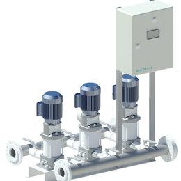 Насосные группы - насосные станции повышения давления воды ПВНС, 0