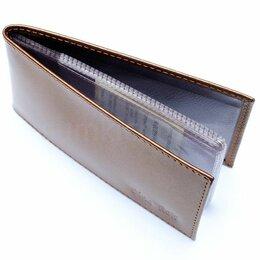 Визитницы и кредитницы - Футляр кредит. карт с хляст. верт. на 16 шт…, 0