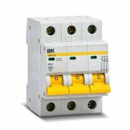 Защитная автоматика - Автоматический выключатель 3Р C 63А IEK ва47-29, 0
