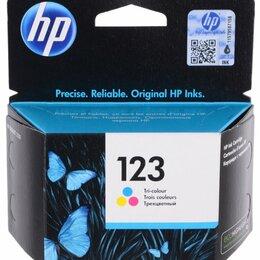 Картриджи - F6V16AE №123 (Color) Картридж HP оригинальный, 0