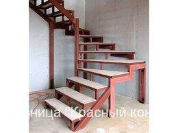 Лестницы и элементы лестниц - Каркас лестницы сварной, под отделку - изготовим…, 0