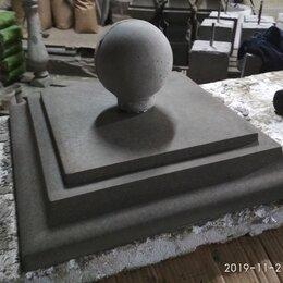 Железобетонные изделия - крышки на столбы забора бетонные калининград, 0