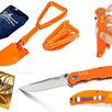 Мужской спасательный оранжевый набор по цене 3333₽ - Ножи и мультитулы, фото 0