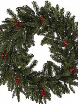 Новогодний декор и аксессуары - Венок RING BERRY, 0