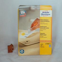Бумага и пленка - Самоклеящиеся этикетки Avery Zweckform L4730REV-25, 0