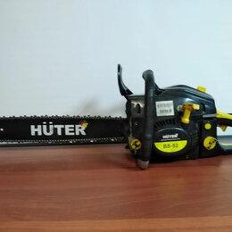 Электро- и бензопилы цепные - Бензопила Huter BS-52 , 0