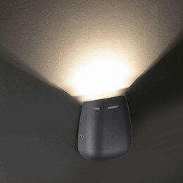 Уличное освещение - Уличный настенный светодиодный светильник…, 0