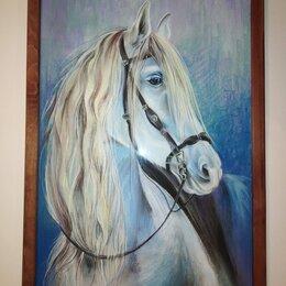"""Картины, постеры, гобелены, панно - картина """"Зимняя лошадь"""", 0"""