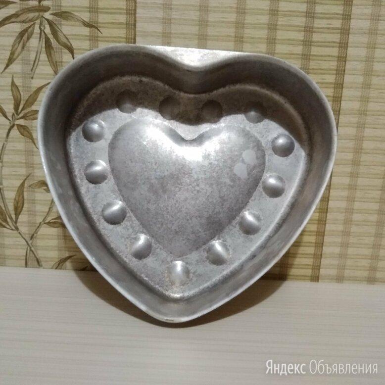 Форма для выпечки Сердце СССР по цене 300₽ - Посуда для выпечки и запекания, фото 0